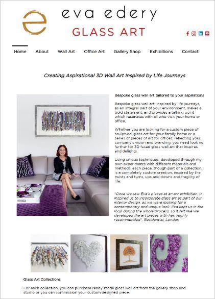 Customer Success Eva Edery website copywriter services